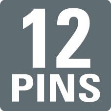 12 PINS