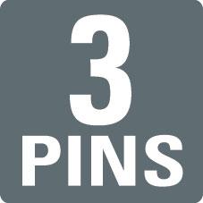 3 PINS