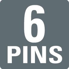 6 PINS