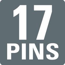 17 PINS