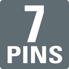 7 PINS