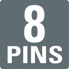 8 PINS
