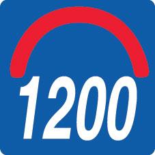 konvex radius 1200
