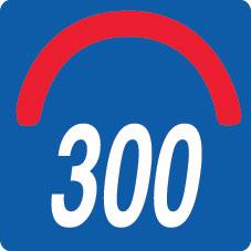 Convesso Raggio 300