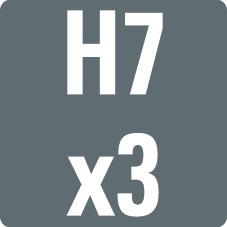 H7+H7+H7
