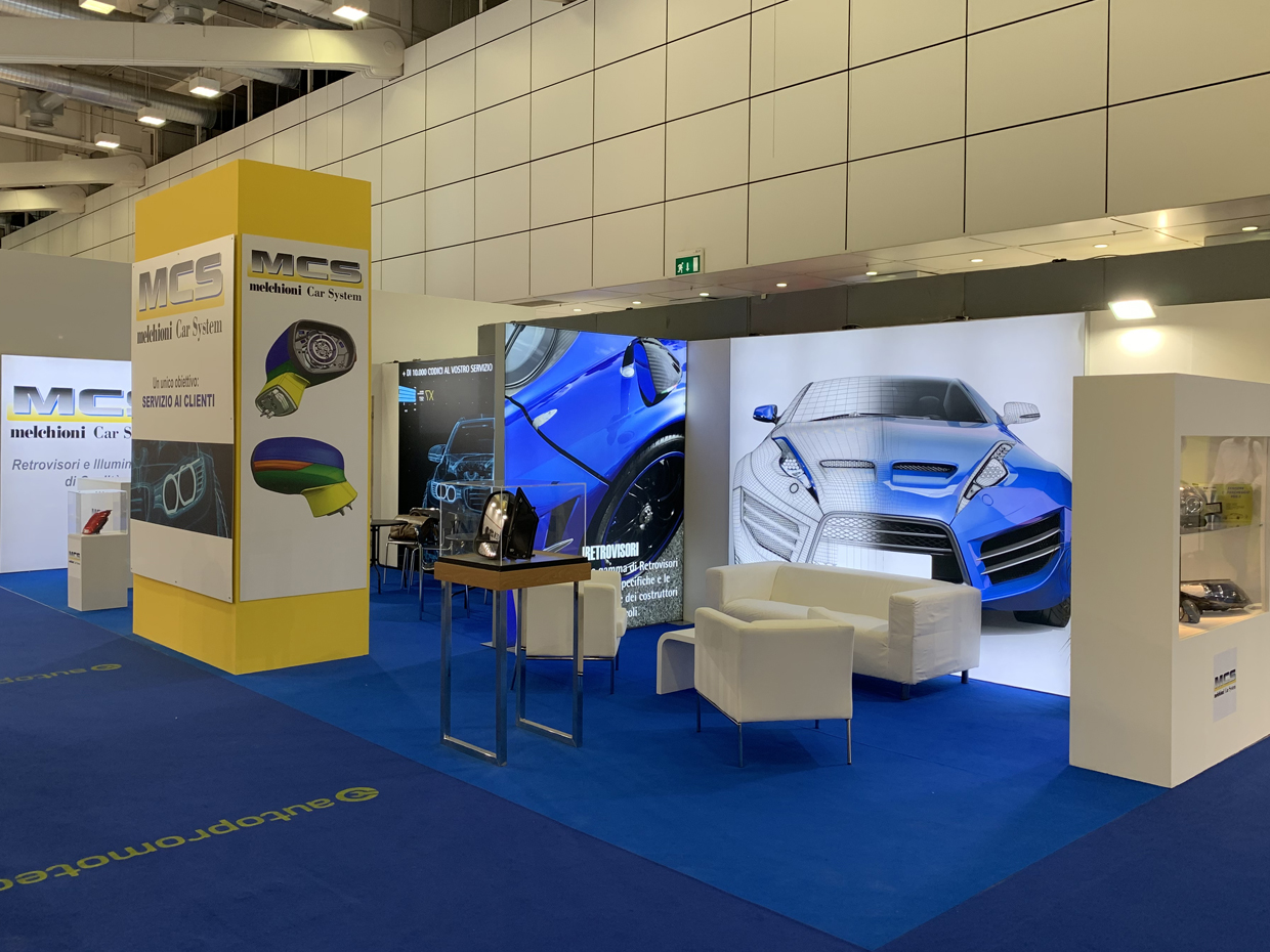 MELCHIONI CAR SYSTEM (MCS) HAS BEEN PRESENT IN AUTOPROMOTEC 2019